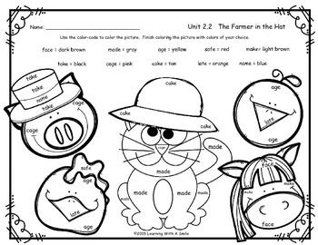 "Free Color-By-Word activity sheet for THE FARMER IN THE HAT - Unit 2.2 -  Reading Street Common Core SupplementI hope you enjoy this free color-by-word activity sheet.  It was designed to be used with the Reading Street story, ""The Farmer in the Hat"", but you may certainly use it with other reading series."