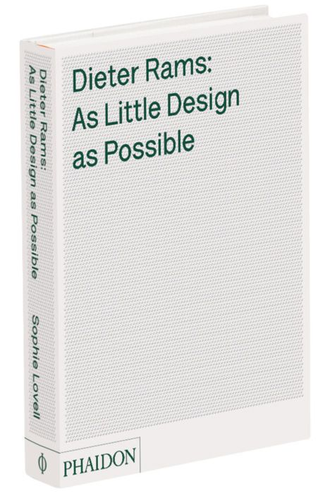 'Indifference towards people and the reality in which they live is actually the one and only cardinal sin in design' [Dieter Rams]