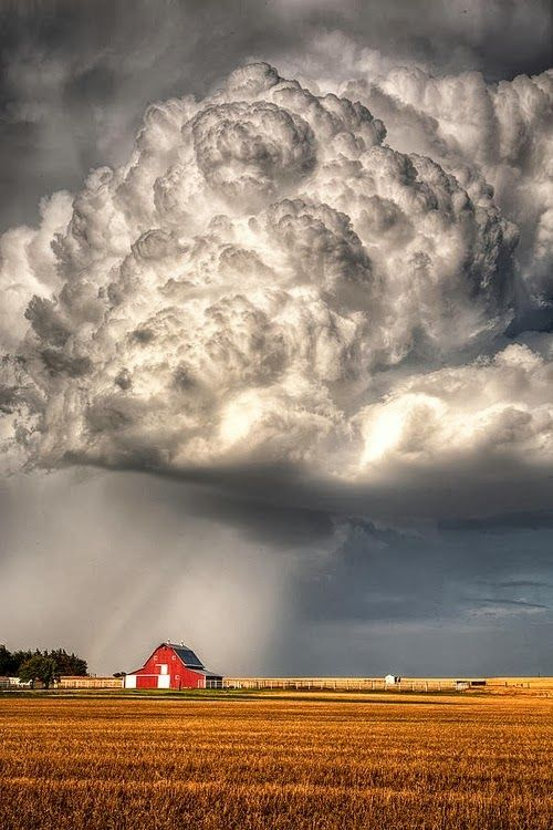 Stormy Homestead by Thomas Zimmerman