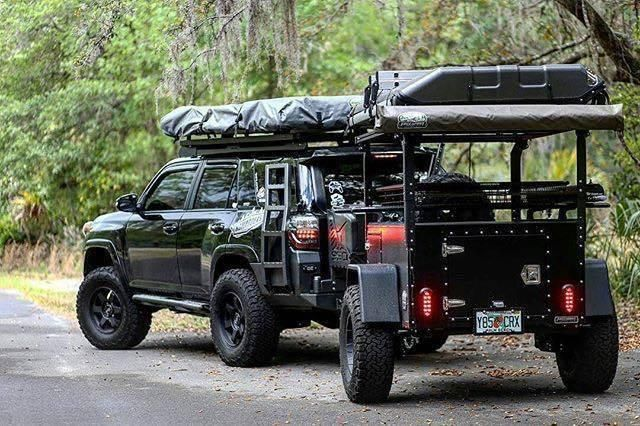 4runner with journey trailer