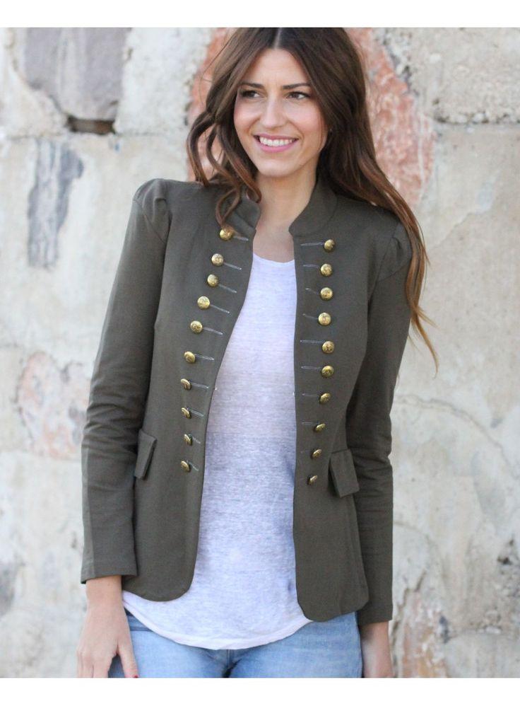 96469cd6fc5 chaquetas militares verdes .