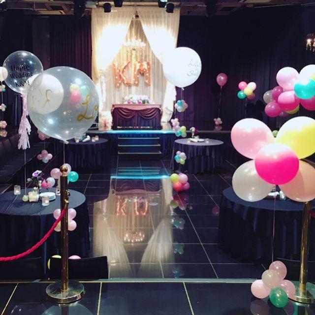 Wedding 2次会の会場をバルーンで飾り付け💕    #photogenic #wedding #weddingparty #結婚式 #結婚式2次会 #party #partyballoon #partydecor #partydecoration #ballowerballoon #ballower #weddingparty #バルーン #バルーンデコ #バルーン装飾 #バルーンに夢中 #iloveballoons #loveballoons #instaballoon