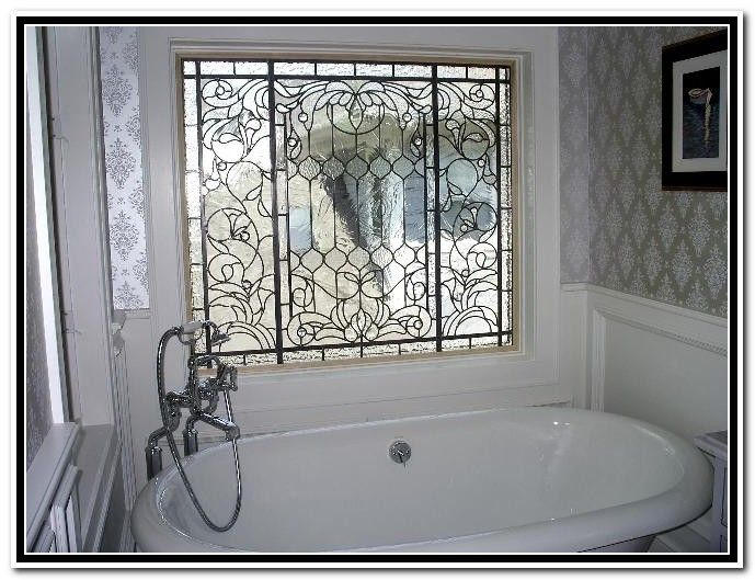 Window In Shower Privacy