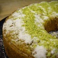 Gâteau Lime, pistache et millet Stéphanie Audet