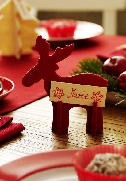 DIY Reindeer For 2013 Christmas Homemade Christmas Table Ideas