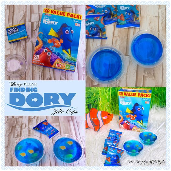FINDING DORY FISH BOWL JELLO CUPS                                                                                                                                                      More