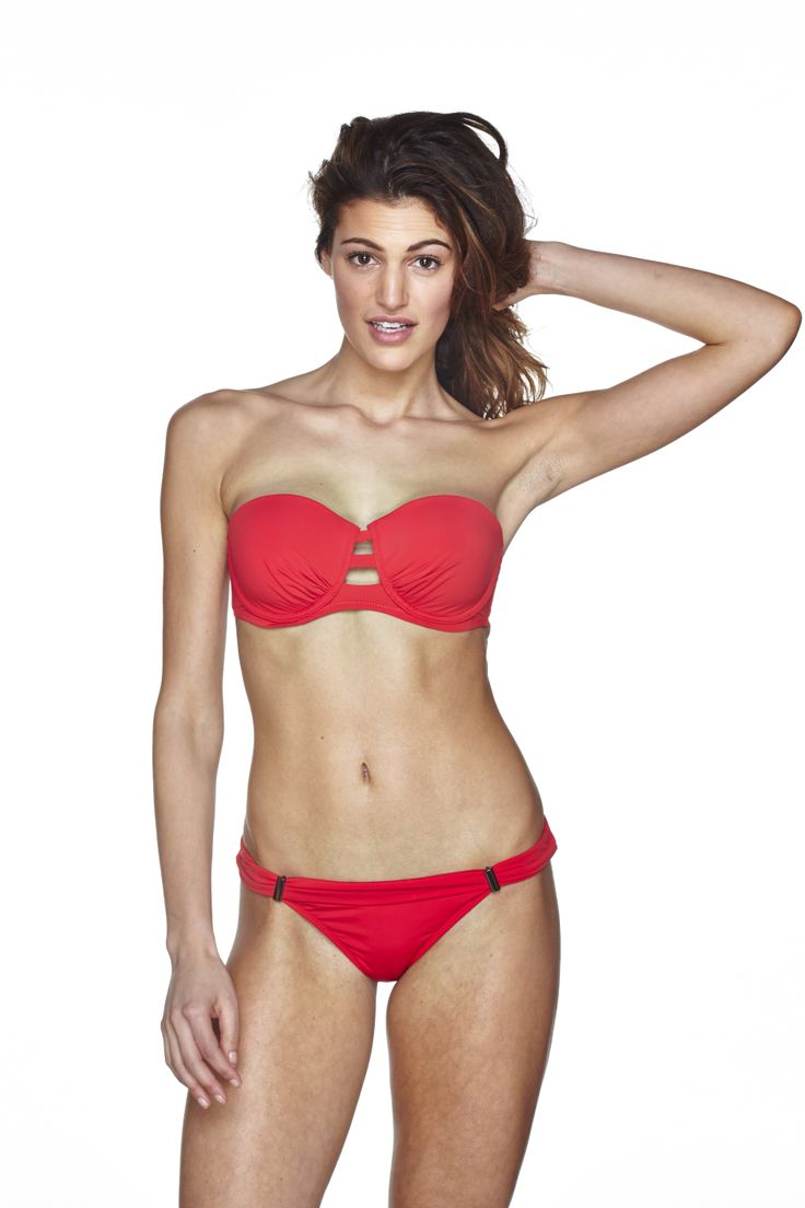 EVERYDAY SUNDAY swimwear Fire Red!