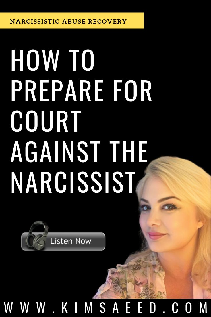 The right way to Put together for Courtroom In opposition to the Narcissist