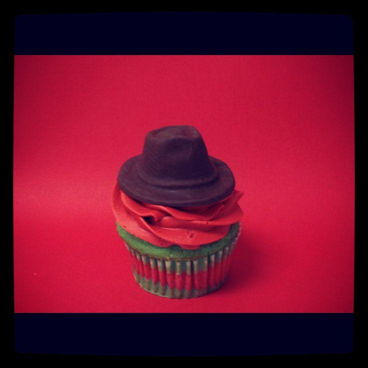 Freddy Krueger Inspired Cupcake