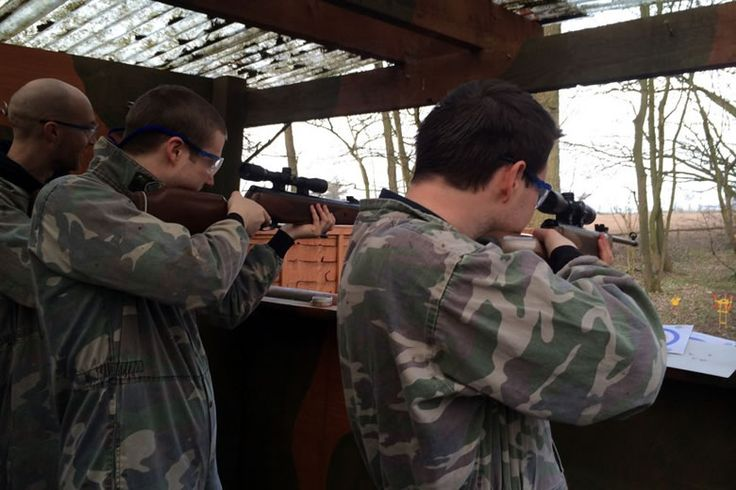 Air-rifle-shooting at Hazlewood Castle