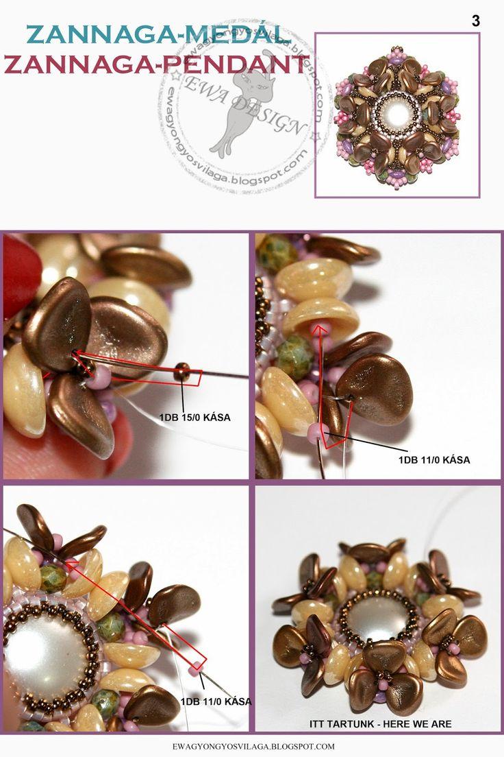 Blog: Zannaga medal minta zannaga pendant pattern :: ewagyongyosvilaga.blogspot.compage 2