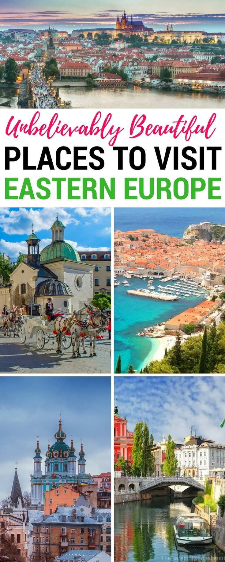 10 of the Most Beautiful Cities in Eastern Europe