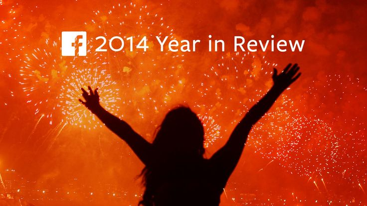 Facebook's 2014 Year in Review is fantastic. My only Q is: Why is it on Vimeo? Says a lot about Vimeo, don't you think?