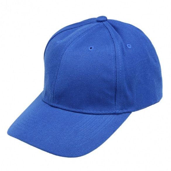 Unisex Fashion Plain Baseball Cap Adjustable Brimmed Cap