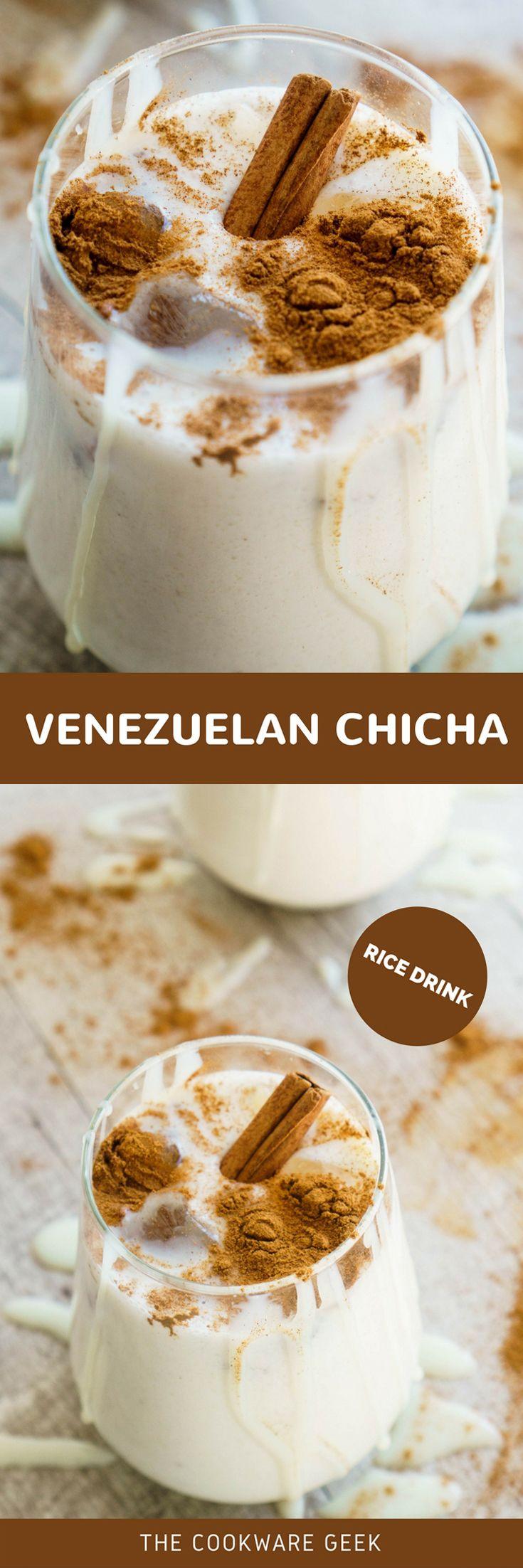 Venezuelan Chicha (Rice Drink) | The Cookware Geek