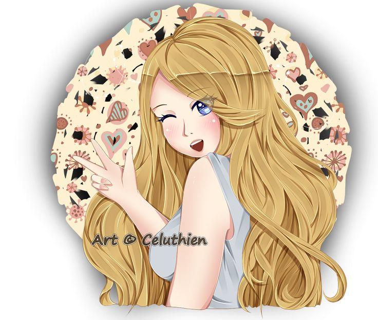 YCH commission for NightfuryNova on #Deviantart #art #drawing #artist #artisthelp #artistsupport #characterart #digitalart #drawing #painting #anime #animegirl #cute #beautiful #artsupport #anime #animedrawing #animegirl #animeportrait #animestyle #blondehair #longhair #blueeyes #wink #winking #bust #bustshot #kawaii #YCH #ychcommission #ychpaypal