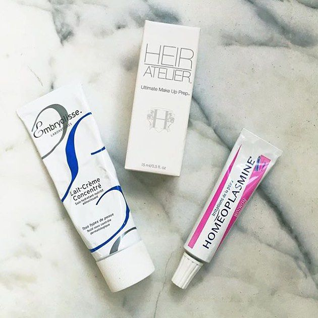 Makeup artist essentials from @marymakeup including @embryolisse famous Lait-Crème Concentré and the multi purpose Homeoplasmine. Both available now on OFFENstore.com #offenstore #homeoplamine #embryolisse