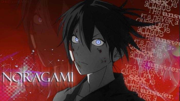 Watch free the anime 'Noragami' streaming online video (comedy, fantasy, supernatural - rating 8.3/10): A minor god seeking to gain widespread worship teams up with a human girl hesaved to gain fame, recognition and at least one shrine dedicated to him - http://movies-news-mob.com/manga/video/db-7/noragami-media=tv.html