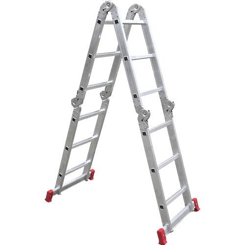 [AMERICANAS] Escada Articulada Multifuncional 12 Degraus 13 Posições Alumínio R$ 175,99
