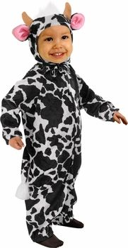 toddler cow costume #ToddlerCostume #HalloweenCostume #Halloween2014