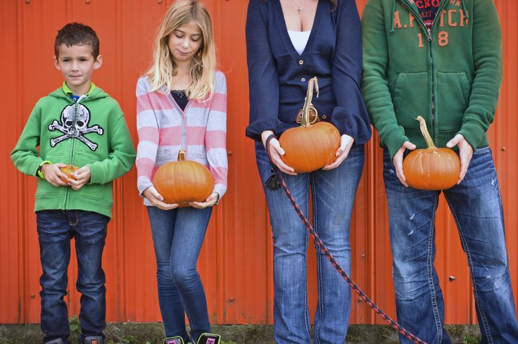 Family Photography, Pumpkin Patch