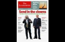 La copertina di The Economist su Beppe Grillo e Silvio Berlusconi