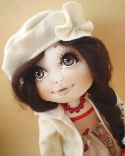 Los hombres hechos a mano.  Masters - Feria Textil muñeca hecha a mano de Eugene.  Hecho a mano.
