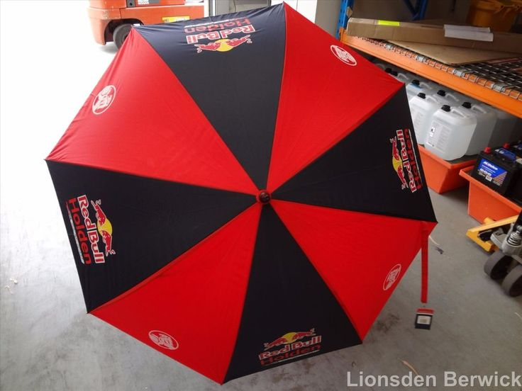 New Genuine 2017 Red Bull Racing Golf Umbrella #RBHRT17.010