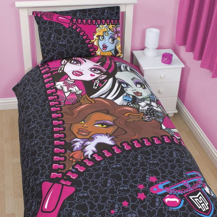 18 Extraordinary Monster High Bedding Set Kids Snapshot Idea Beautiful Things Of Mine In 2018 Pinterest Room And