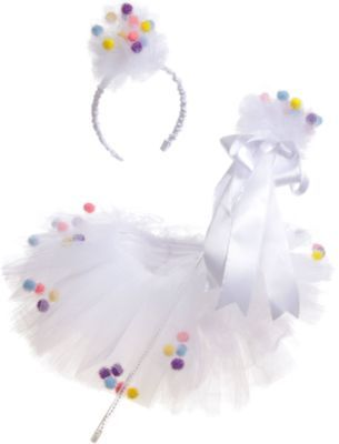 Puppet Workshop Pom-Pom Tutu Dress-Up Set at Barneys New York
