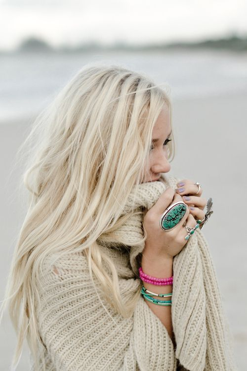 Cozy, I love all the rings!!: Hairstyles, Fashion, Blonde Hair, Haircolor, Hair Style, Beauty, Hair Colour, Hair Color