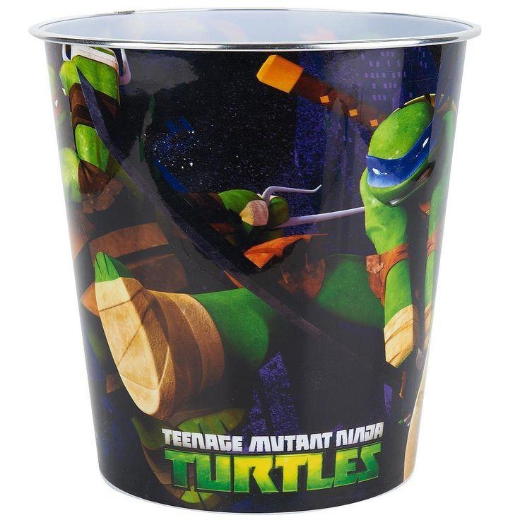 Captivating Teenage Mutant Ninja Turtles Waste Basket