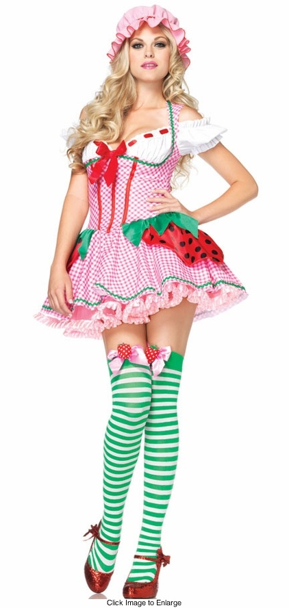 luxe strawberry shortcake costume - Halloween Costumes That Are Cute