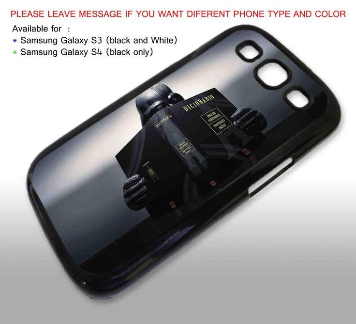 Dart Vader reading dictionary Galaxy S4 BLACK case