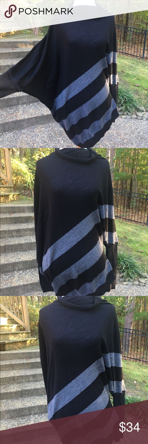 New-C & C California black sweater Size- Large-L Love this perfect with jeans C & C California sweater. Beautiful c & c California Sweaters Cowl & Turtlenecks