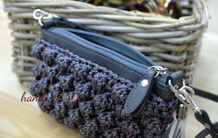 Crochet bag, style Missoni