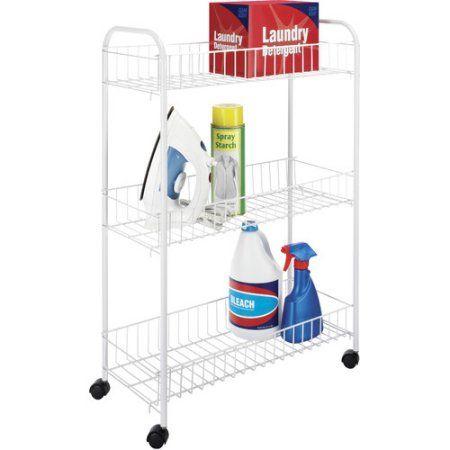 Home Laundry Room Storage Laundry Cart Storage