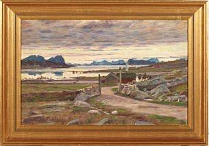 Ole Juul (1852-1927): Nordnorsk landskap