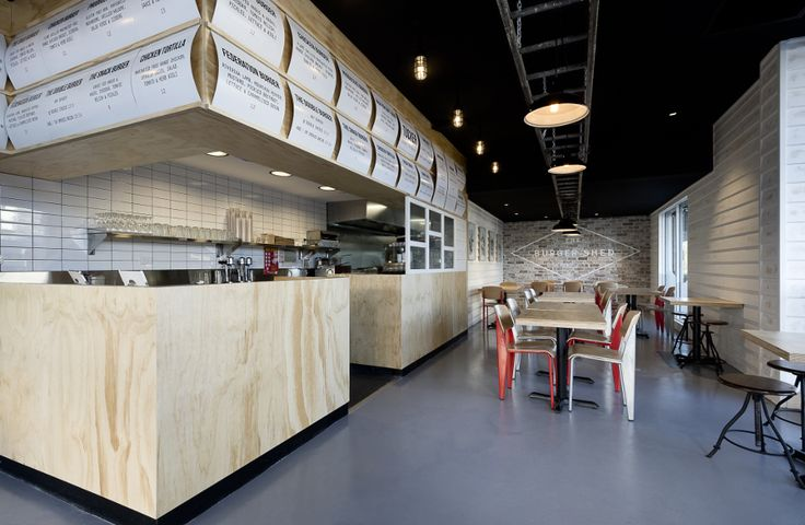 The Burger Shed, Mima Design - Restaurant & Bar Design