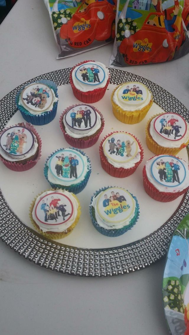 #thewiggles #2ndbday #wigglycupcake #wigglypartyideas #wigglyparty #wigglesfan