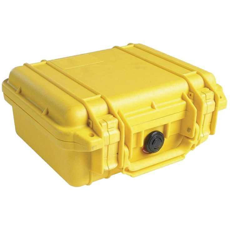 Pelican 1200 Case With Pick N Pluck Foam (yellow)