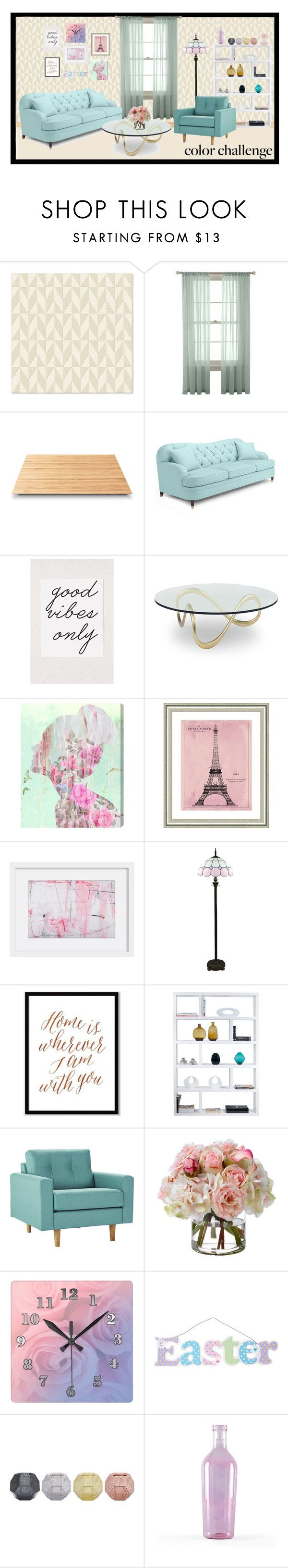 """Pastel Colour"" by danaisnawati on Polyvore featuring interior, interiors, interior design, home, home decor, interior decorating, West Elm, Martha Stewart, Suki Cheema and Kate Spade"