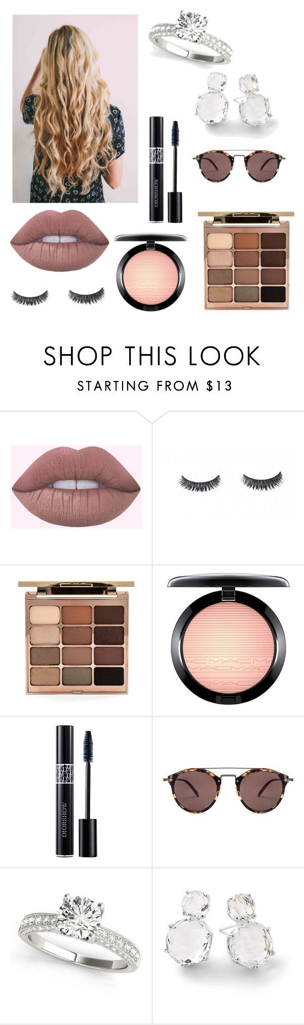 """""""Untitled #33"""" by kylie-cardinali on Polyvore featuring beauty, Stila, MAC Cosmetics, Christian Dior, Oliver Peoples and Ippolita"""