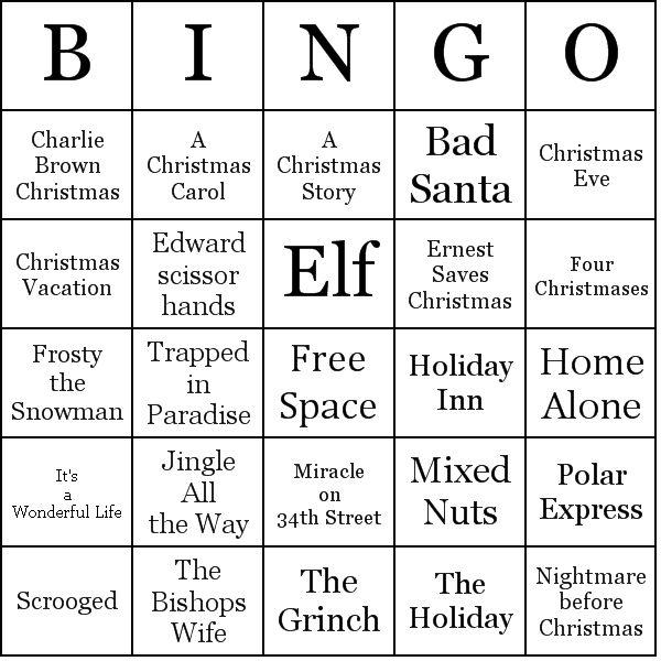 31+ Free Christmas Printables | Christmas bingo, Fun ... |Christmas Bingo Questions Funny
