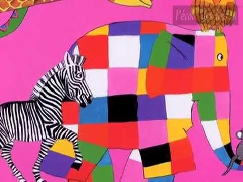 Elmer l'éléphant - YouTube