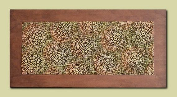 Textured  Decorative Wall Panel  Wood Wall Decor  by JeemadoDecor