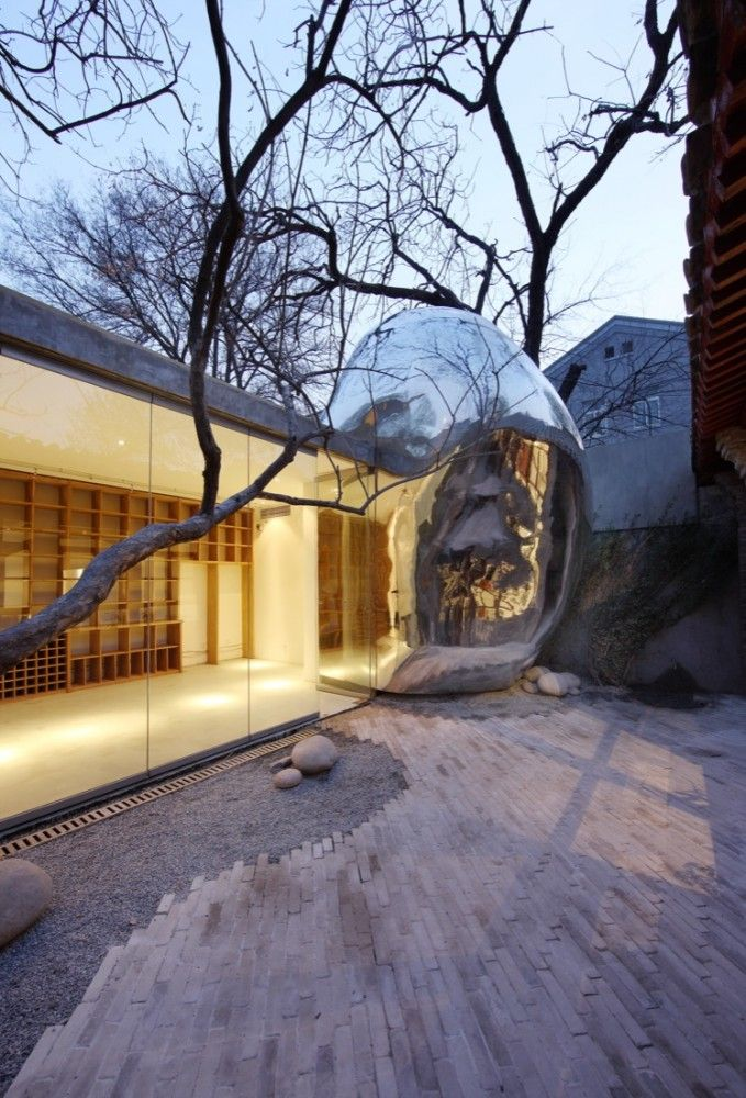 Beijing Hutong Bubble / MADContemporary Architecture, Hutong Bubbles, Architecture Examples, Mad Architects, Bubbles 32, Architecture Stuff, The Beijing Tong, Architecture Trends, Mad Architecture