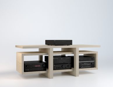 les 25 meilleures id es de la cat gorie meuble hifi sur pinterest meuble hifi design meuble. Black Bedroom Furniture Sets. Home Design Ideas