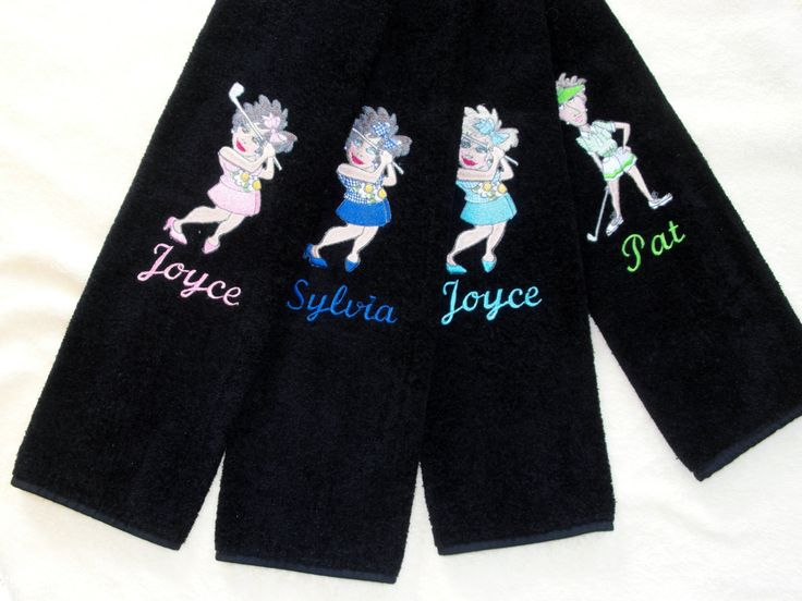 A personal favorite from my Etsy shop https://www.etsy.com/listing/194052695/personalized-golf-towel-embroidered-golf