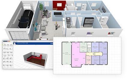 homebyme dessinez vos plans en 2d et 3d et r alisez votre projet d 39 habitat immobilier 2 0. Black Bedroom Furniture Sets. Home Design Ideas